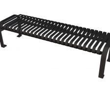 Carnival Armless Bench