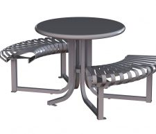 Carnival Curved Table