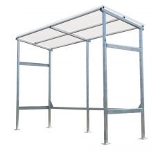 Bike Shed for Vertical Storage - SHD-V12-G