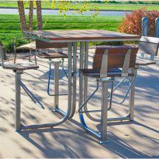 Lofty Bar Courtyard Table
