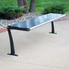 Wingra Flat Bench - WGF-6-RPC-Black