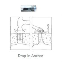 Bike Rack Hardware - Drop In Anchor