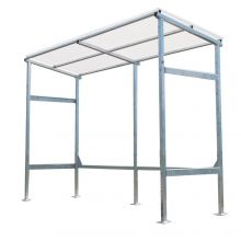Wall Racks for Vertical Storage Sheds - SHD-WRK-8-KIT-G