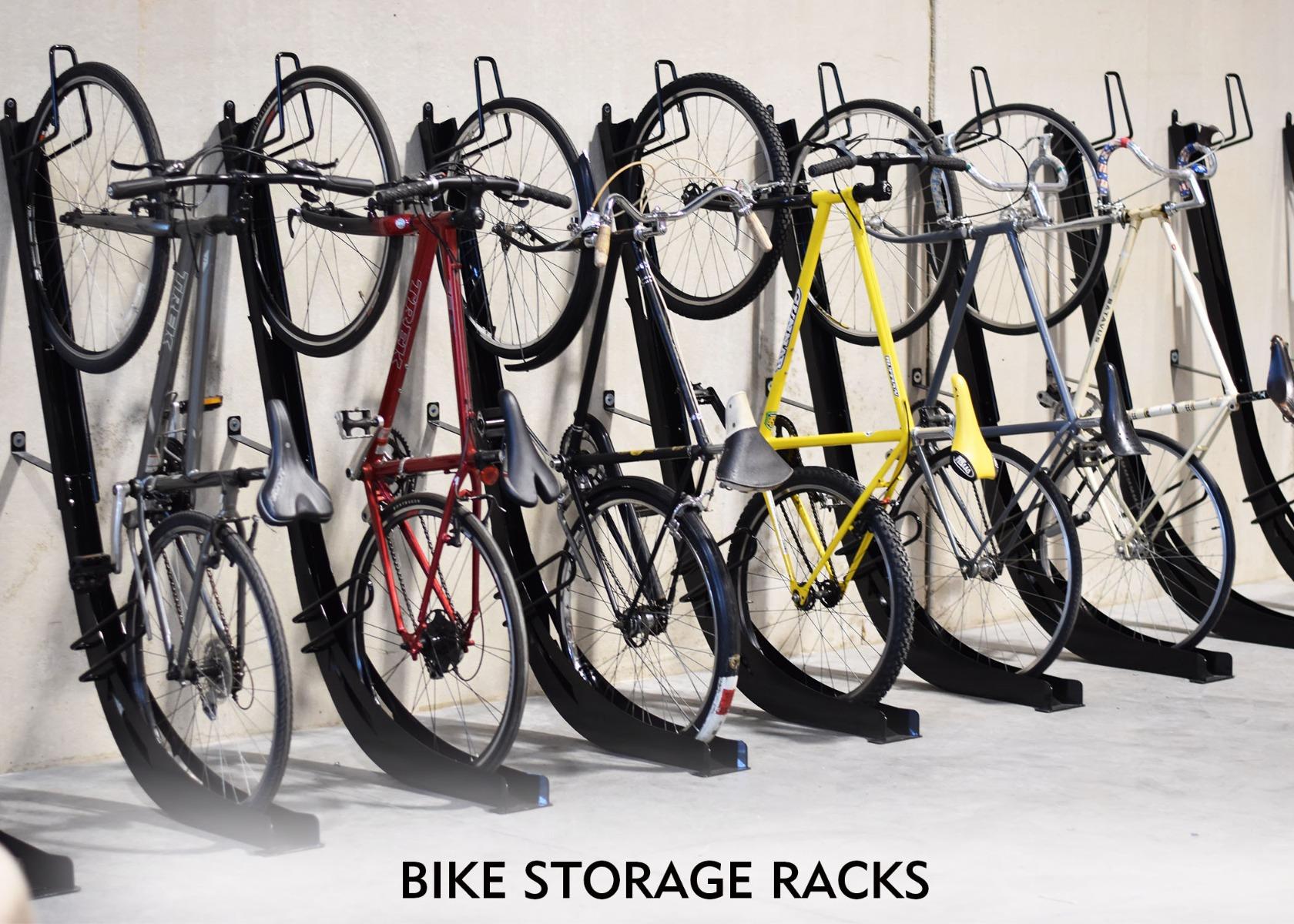Roll Up Bike Storage