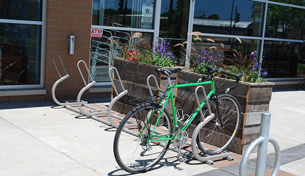 Bike Parking Placed within 50 Feet of Main Entrance