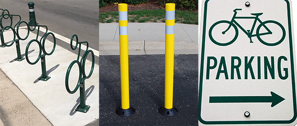 Examples of Bike Parking Identification
