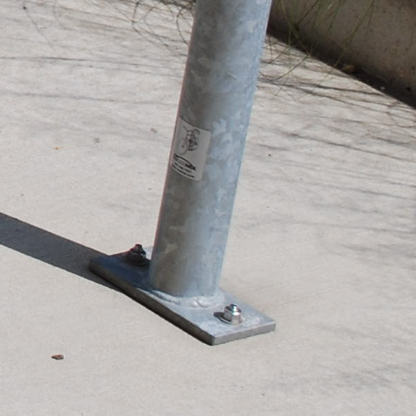 Image of a Bike Rack Surface Mounted