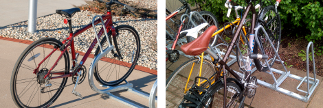 Wheel Pocket Bike Racks
