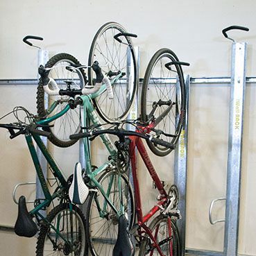 wall bike rack