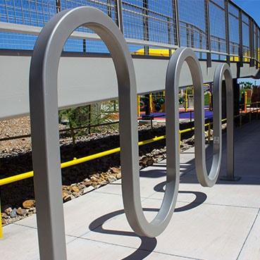 winder bicycle rack