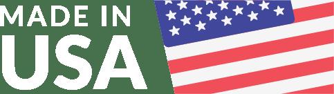 USA Made Logo Reverse Colors